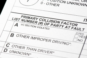 orange county car accident case report
